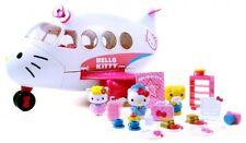Hello Kitty Jet Plane Play Set Airplane Toys Popular Game Fun Girl Kid Gift