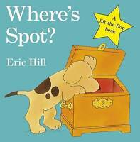 Where's Spot? by Eric Hill, NEW Book, FREE & Fast Delivery, (Board book)