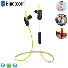 In-Ear Wireless Sport Headphones Sound Cancellation Bluetooth Earbuds with Mic