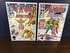 X-MEN & ALPHA FLIGHT Volume 1 - 2 Complete Limited Series 1985 w/ Loki! Marvel