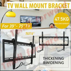 "39""-75"" Inch Universal Tilt TV Wall Mount Bracket SONY SAMSUNG LG Panasonic LED"