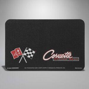 1963-1967 Corvette C2 Non-Slip Fender Cover with Logo and Script 642641