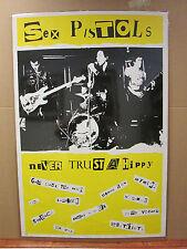 Vintage Sex Pistols poster punk rock band music artist 5869
