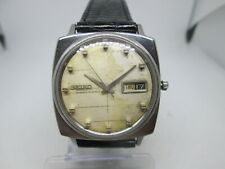 VINTAGE SEIKO WEEKDATER SEALION 6206-8050 STAINLESS STEEL AUTOMATIC MENS WATCH