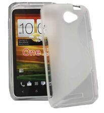 TPU Style Case Wave für HTC ONE X in transparent Silikon Skin Hülle Bag clear