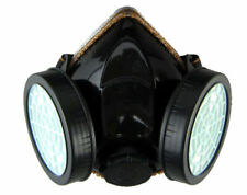 Emergency Gas Mask 2 Dual Filter Survival Safety Respiratory Protection