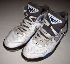 Nike Air Flight Falcon Shoes Size 10.5  White Gray Blue