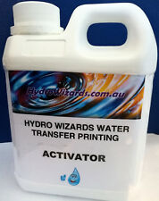 Hydrographic Printing Dipping, Hydro graphic Cubic Printing ACTIVATOR 1L