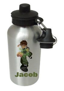 Ben 10 - Personalised Kids/Drinks/Sports Childrens Water Bottle