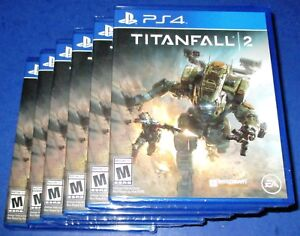 Lot of 6 Titanfall 2 Sony PlayStation 4 *Factory Sealed! *Free Shipping!