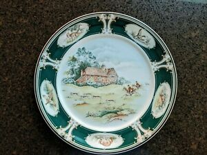 "Keltcraft Dinner Plate ""Pursuit"" by Noritake (Mint Condition)"