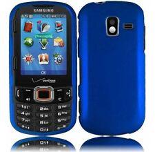Hard Rubberized Case for Samsung Intensity III U485 - Cool Blue