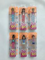 Barbie On The Go Figures (Complete Set of 6)