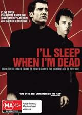 I'LL SLEEP WHEN I'M DEAD - CLIVE OWEN CRIME NEW DVD MOVIE SEALED