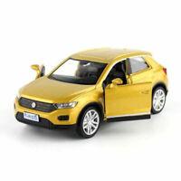 T-ROC SUV Off-road 1:36 Die Cast Modellauto Spielzeug Kinder Model Sammlung Gold