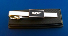 JAMES BOND 007 TIE BAR SECRET AGENT TIE CLIP CLASP TIES LOGO