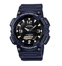 Casio Watch * AQS810W-2A2 Tough Solar Illuminator Blue Resin PayPal #crazy1212