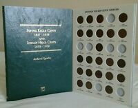 23 DIFF Indian Head Cents 1882-1909 Collection / Lot w/Folder