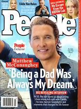 People Magazine Oct. 26 2020 Matthew McConaughey Eddie Van Halen India Oxenberg