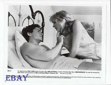 Rob Lowe barechested, Kim Cattrall VINTAGE Photo Masquerade