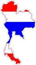 aufkleber sticker decal emblem flagge fahne landkarte karte thailand