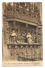 la cathédrale de rouen  tombeau des cardinaux d'amboise