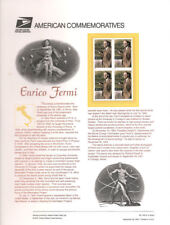 #636 34c Enrico Fermi Scientist #3533 USPS Commemorative Stamp Panel