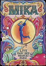 MIKA LIVE PARC DES PRINCES PARIS DVD MUSIC CONCERT