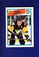 Paul Coffey HOF 1988-89 O-PEE-CHEE OPC Hockey #179 (NM+) Pittsburgh Penguins