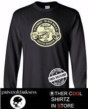 MENS BLACK LONG SLEEVE  T Shirt  STURGIS South Dakota Black Hills Free Postage