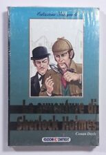 LE AVVENTURE DI SHERLOCK HOLMES  A.Conan Doyle CARTEDIT 1994 ediz. per ragazzi
