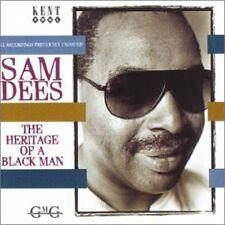 Sam Dees - Heritage of a Black Man [New CD] UK - Import