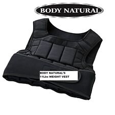 BODY NATURAL'S 11LBS  WEIGHTED VEST
