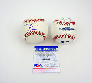 Tim Lincecum San Francisco Giants Signed Autograph MLB Baseball PSA/DNA COA