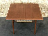 60er 70er Jahre Teak Coffee Table Couchtisch Trioh Danish Design Denmark 60s 70s