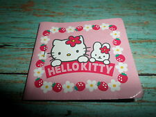 Sanrio Hello Kitty Vintage 1998 Mini Sticker Book COMPLETE Bunny Rabbit