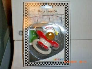NEW Dale Earnhardt #3 Official NASCAR Car Racing Baby Fanatic Infant Pacifier
