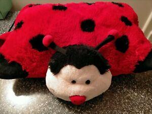 Authentic Pillow Pets Ladybug Ladybeetle Plush Soft Stuffed Animal
