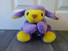 2001 Baby TY Pillow Pals Blue Yellow