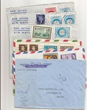 Assorted Middle East covers- 11- going to various destinations,Sweden/ U.K./Usa