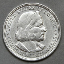 1893 50C Columbian Commemorative Silver Half Dollar