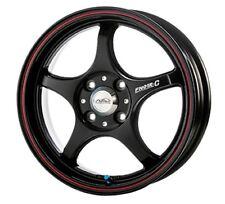 5ZIGEN ProRacer wheels FN01R-C 16x6.5J +42 4x100 Black/Red from JAPAN