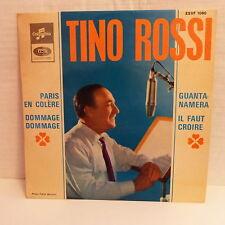TINO ROSSI Paris en colere / Guantanamera  ... ESVF 1080