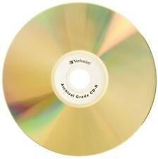 50-Pak VERBATIM =ULTRALIFE GOLD= 52X 80-Min Archival GOLD CD-R's, Verbatim 96159