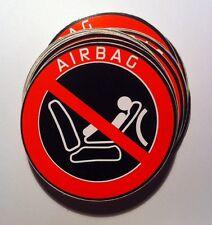 AIRBAG STICKER AUTOCOLLANT ADHESIF