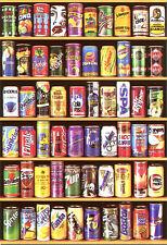 Puzzle Dosen-Collage, 1500 Teile, Getränk, Coca Cola, Fanta, Sprite, Educa