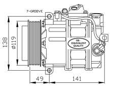 Compressore Mercedes Classe SLK 200 Kompressor Benzina Dal 2004 -> R171