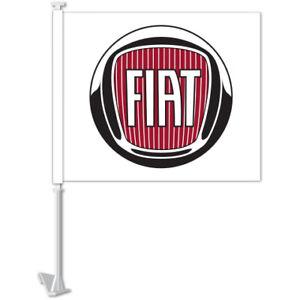 CAR DEALER MANUFACTURER CLIP-ON WINDOW FLAGS