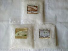 YANKEE CANDLE 3X10GR BAGS OF WAX CRUMBLE ' FRESH' FOR OIL BURNERS/WARMERS