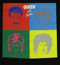 Queen Hot Space _Rare_ L shirt vtg Deadstock Concert Rock tour t-shirt w/lp art